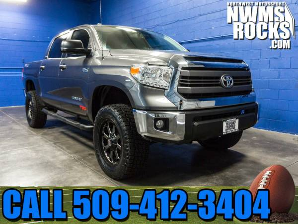 Lifted 2014 *Toyota Tundra* TRD 4x4 - Rear Backup Camera! 2014 Toyota