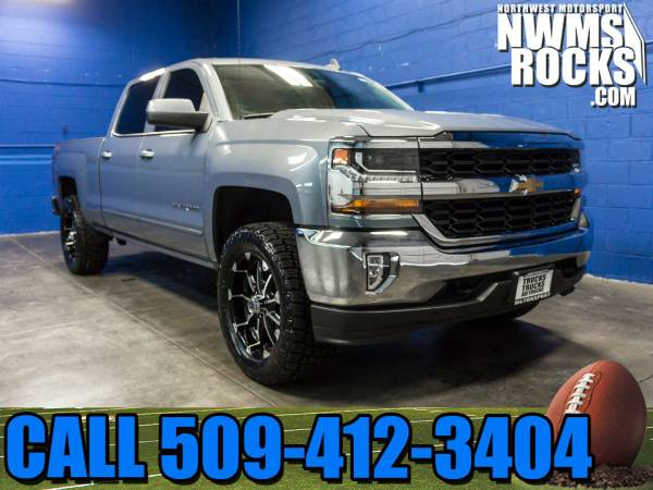 Lifted 2016 *Chevrolet Silverado* 1500 LT 4x4 - One Previous Owner! 20