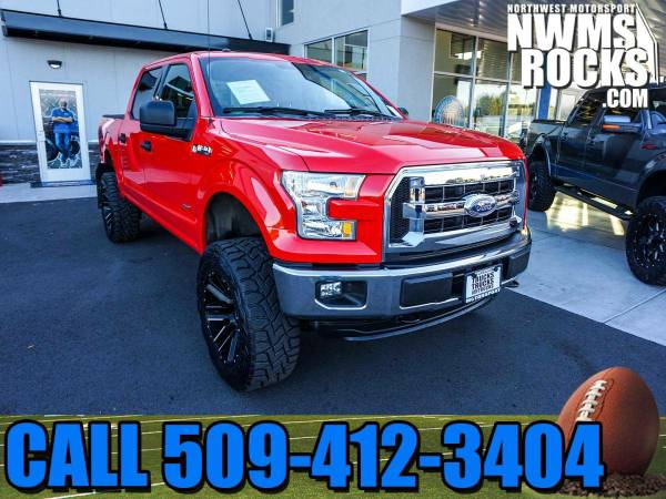 Lifted 2016 *Ford F150* XLT 4x4 - 2016 Ford F-150 XLT 4x4 Truck w/ Pre