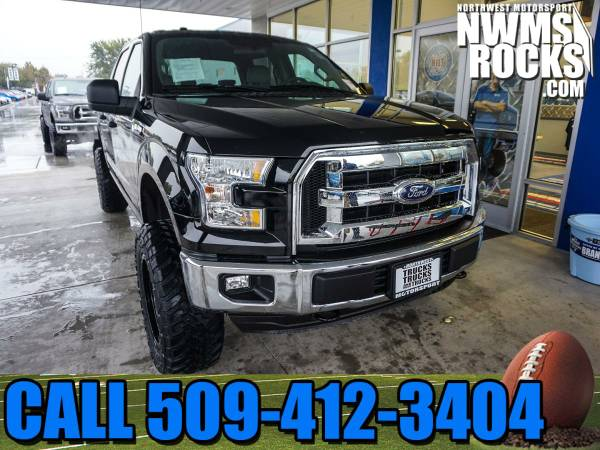Lifted 2016 *Ford F150* XLT 4x4 - NEW LIFT! 2016 Ford F-150 XLT 4x4 Tr