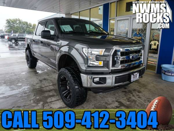 Lifted 2016 *Ford F150* XLT 4x4 - 2016 Ford F-150 XLT 4x4 Truck with P