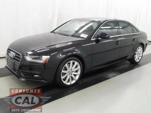 2013 *Audi* *A4* *4dr Sdn Auto quattro 2.0T Premium P* 4dr Car