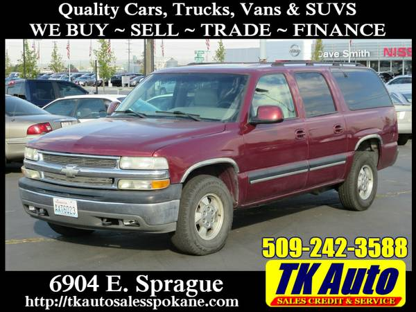 2001 Chevrolet Suburban 1500 LT #4298A ✪ Trade-Ins Welcome!