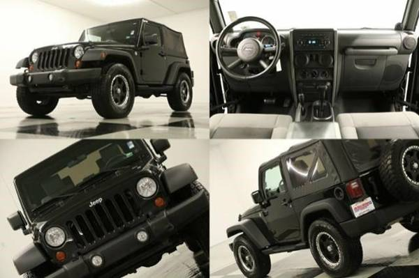 TOUGH Black WRANGLER 4X4 - SPORT* 2010 Jeep *CLEAN - LOW MILES*