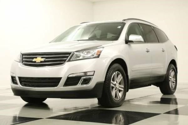 *SLEEK Silver TRAVERSE AWD w CAMERA* 2016 Chevy *BENCH - BLUETOOTH*