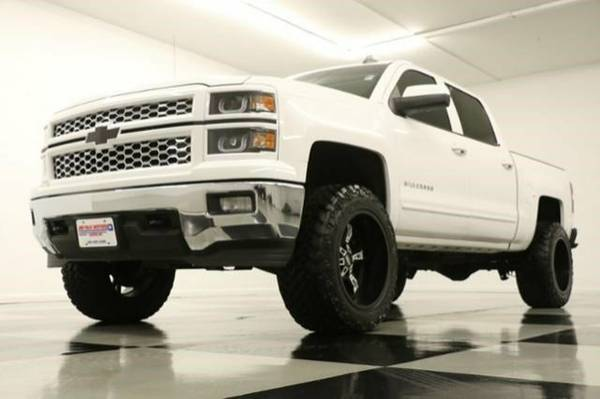 TOUGH LIFTED SILVERADO 1500 4X4* 2015 Chevy *LEATHER - 5.3L V8*
