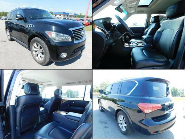 2012 INFINITI QX56 Black Obsidian *Unbelievable Value!!!*