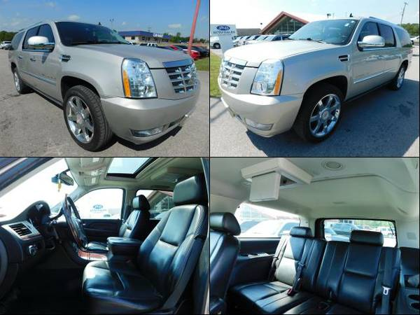 2008 Cadillac Escalade ESV Quicksilver For Sale NOW!
