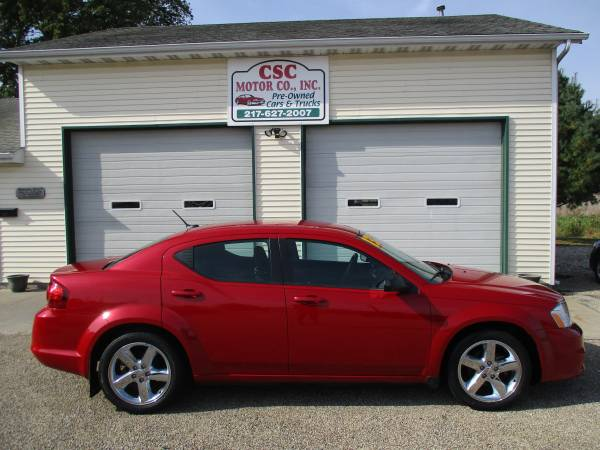 2013 Dodge Avenger SE 4-Door Chrome PKG