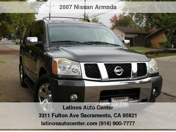 2007 Nissan Armada LE in Great Condition
