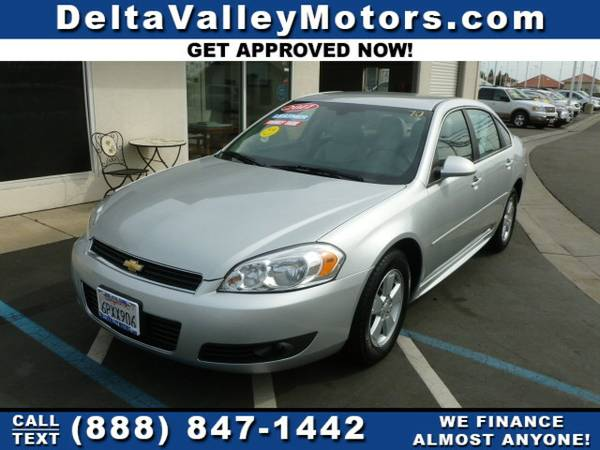 2011 Chevrolet Chevy Impala LT Sedan 4D Car