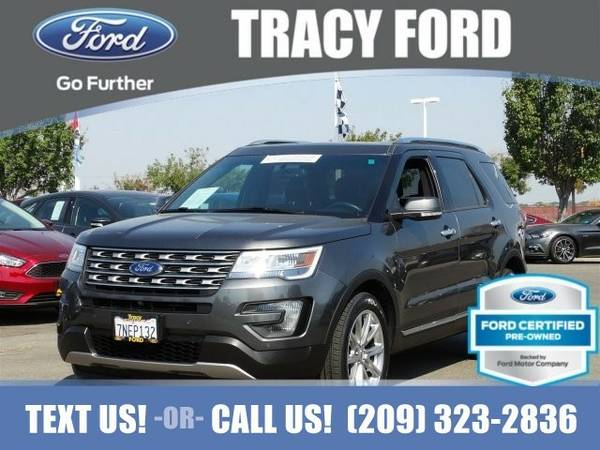 2016 Ford Explorer Limited SUV Explorer Ford