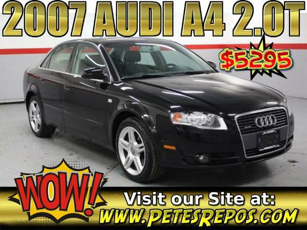 2007 Audi A4 2.0t with Turbo - Like New Audi _