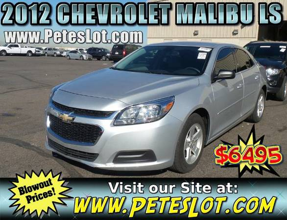 2012 Chevy Malibu __ Chevrolet Fully Loaded Malibu