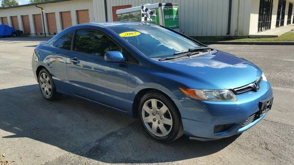 2007 Honda Civic LX Coupe!! Only 80,000 Miles. Very Clean