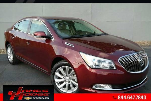 2016 Buick LaCrosse - FREE OIL CHANGES FOR LIFE
