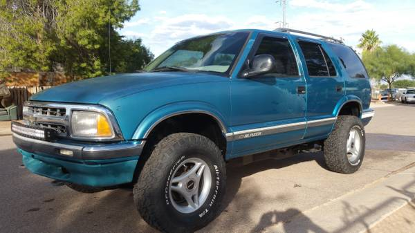 96 lifted chevy s10 blazer