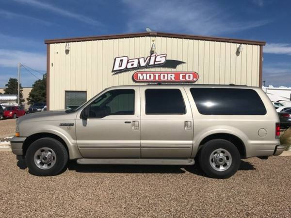 2004 Ford Excursion Limited Turbo Diesel Leather DVD Very Clean Runs...