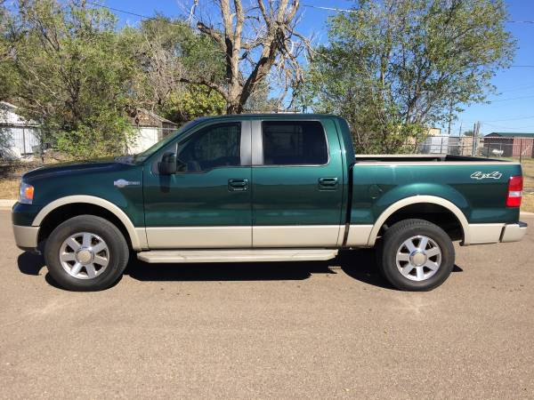 2007 FORD F150 KING RANCH 4X4, 154k miles - LOOK -