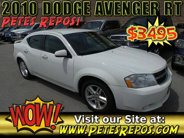 2010 Dodge Avenger RT - Excellent Dodge