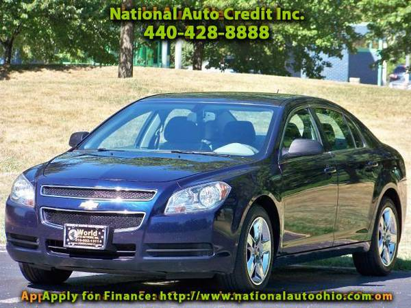 2011 Chevrolet Malibu LS. Chrome Wheels. On-Star Ready. FULLY LOADED.