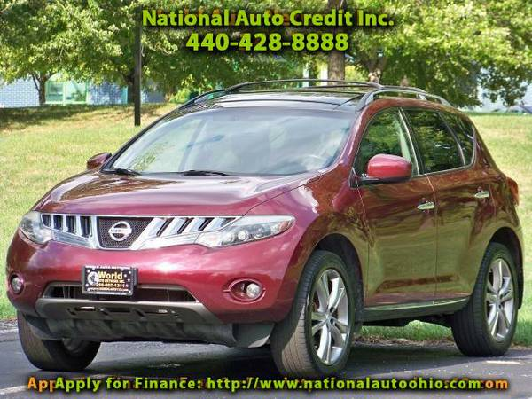 2009 Nissan Murano LE AWD. 1-Owner Vehicle. Navigation. Jack Box. Pow