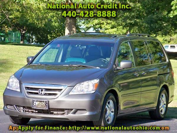 2007 Honda Odyssey EX-L. 1-Owner Vehicle. Heated Leather Seats & Sunr