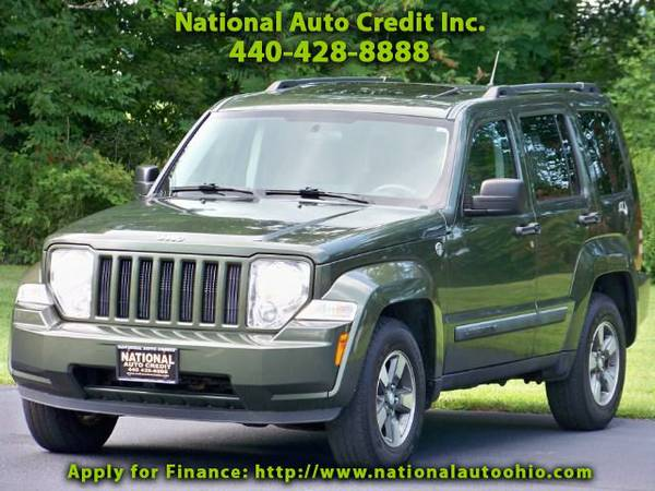 2008 Jeep Liberty Sport. Power Sunroof Pkg. Alloy Wheels. WELL MAINT
