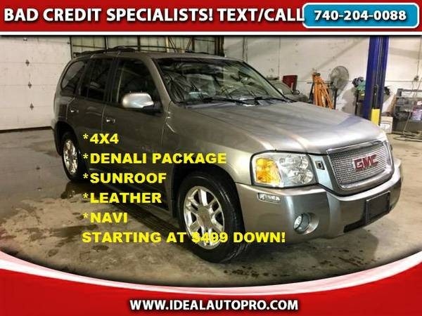 **2006 GMC ENVOY DENALI 4WD*$499 DWN BAD CREDIT GUARANTEED APPROVALS!