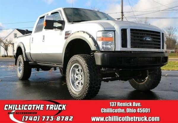 2008 Ford F350 Super Duty Crew Cab Lariat Pickup 4D 6 3/4 ft...