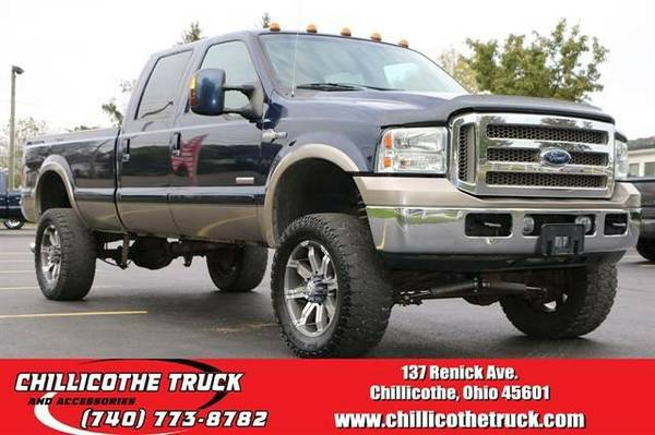 2006 Ford F350 Super Duty Crew Cab King Ranch Pickup 4D 8 ft...