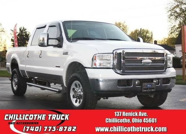 2005 Ford F350 Super Duty Crew Cab XLT Pickup 4D 6 3/4 ft...
