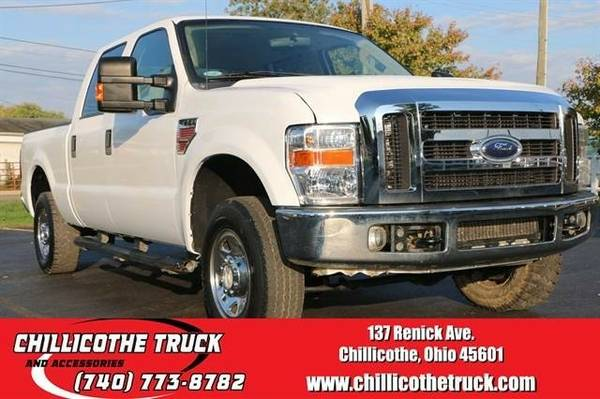 2008 Ford F250 Super Duty Crew Cab XLT Pickup 4D 6 3/4 ft...