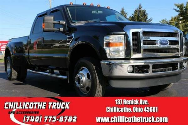 2008 Ford F350 Super Duty Crew Cab Lariat Pickup 4D 8 ft...