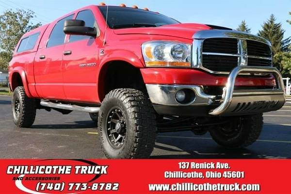 2006 Dodge Ram 3500 Mega Cab SLT Pickup 4D 6 1/4 ft **Chillicothe...