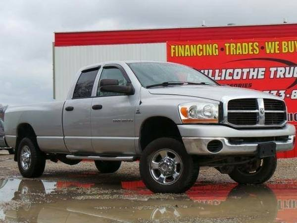 2006 Dodge Ram 2500 Quad Cab SLT Pickup 4D 8 ft **Chillicothe Truck...