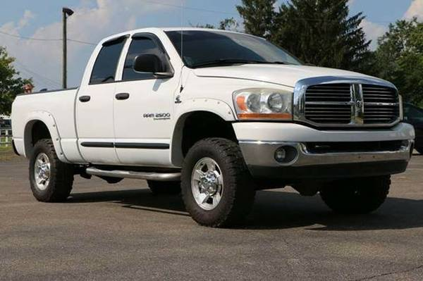 2006 Dodge Ram 2500 Quad Cab SLT Pickup 4D 6 1/4 ft **Chillicothe...