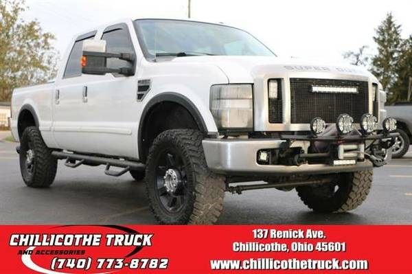 2009 Ford F350 Super Duty Crew Cab Lariat Pickup 4D 6 3/4 ft...