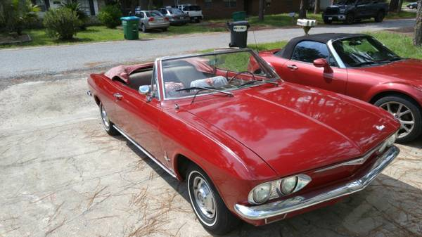1965 CORVAIR CONVERTIBLE