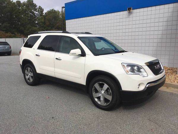2012 *GMC* *Acadia* SLT1 - ALL Credit Accepted