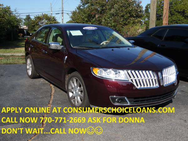 2011 LINCOLN MKZ....CALL NOW TO APPLY