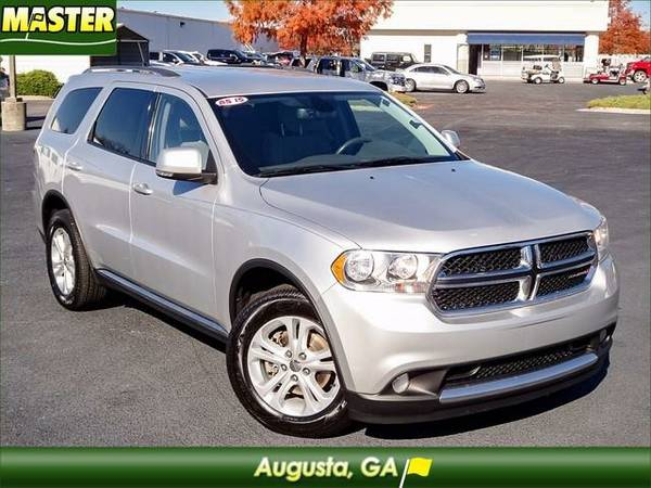2011 *Dodge DURANGO* CREW - (Bright Silver Metallic Clearco)