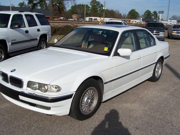 2001 BMW 740i White
