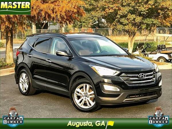 2013 *Hyundai SANTA FE* 2.0T SPORT W/SADDLE INT - (Twilight Black)