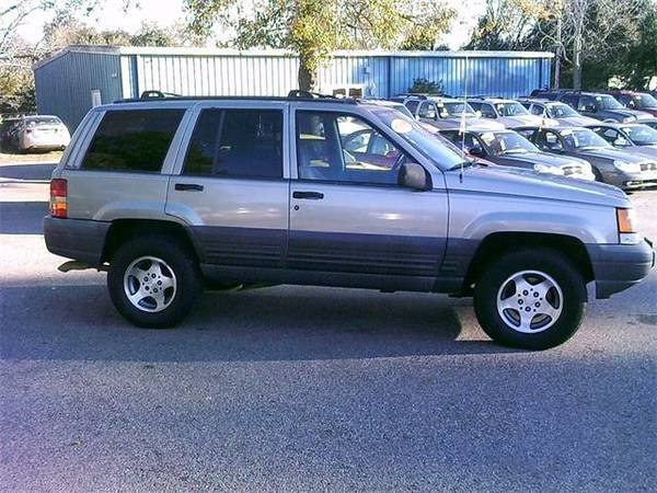 1998 *Jeep Grand Cherokee* - Green