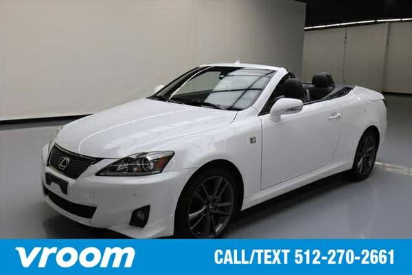 2013 Lexus IS 250C 2dr Convertible Convertible 7 DAY RETURN / 3000 CAR