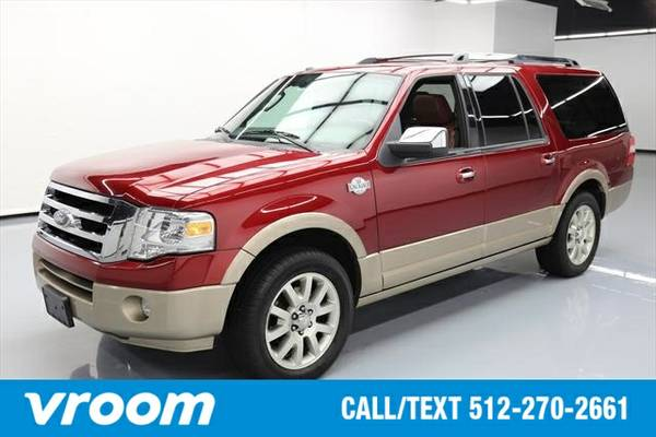 2013 Ford Expedition EL King Ranch EL 4dr SUV SUV 7 DAY RETURN / 3000