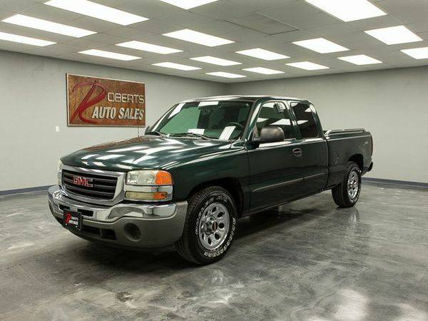 2006 *GMC* *Sierra* *1500* SL FAST APPROVAL AND IN HOUSE FINANCING