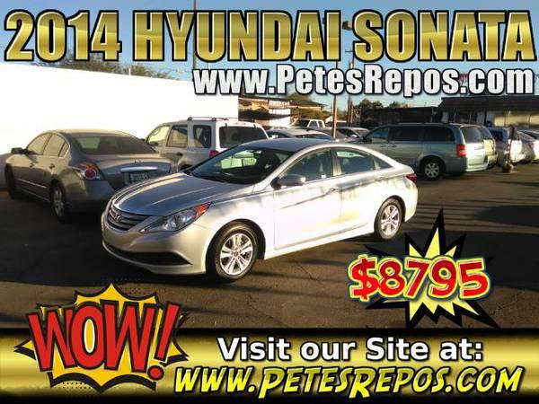 2014 Hyundai Sonata - Low Miles Sonata