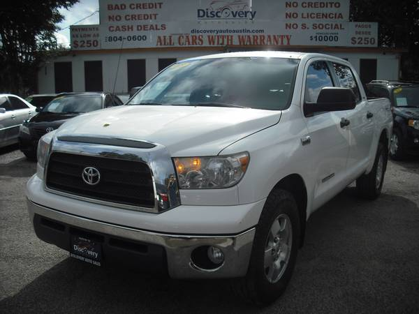 2008 TOYOTA TUNDRA SR5-EASY FINANCE, LOW DOWN PAYMENTS, BAD/NO CREDIT!